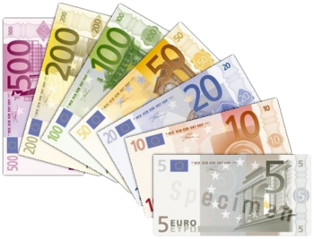 350px-Euro_banknotes